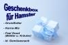 Geschenkbox für Hamster